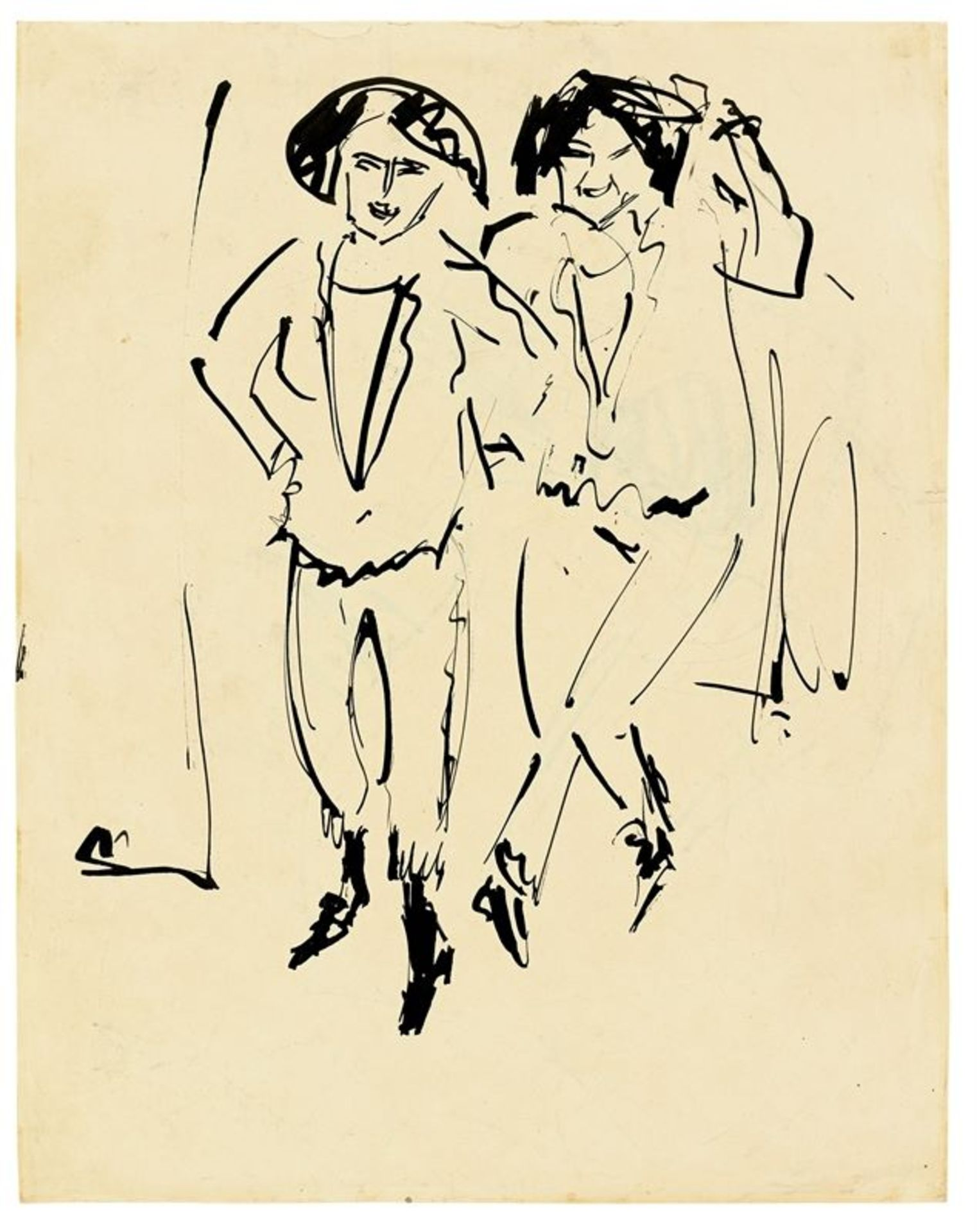 Los 138 - Ernst Ludwig Kirchner (Aschaffenburg 1880 – 1938 Davos)