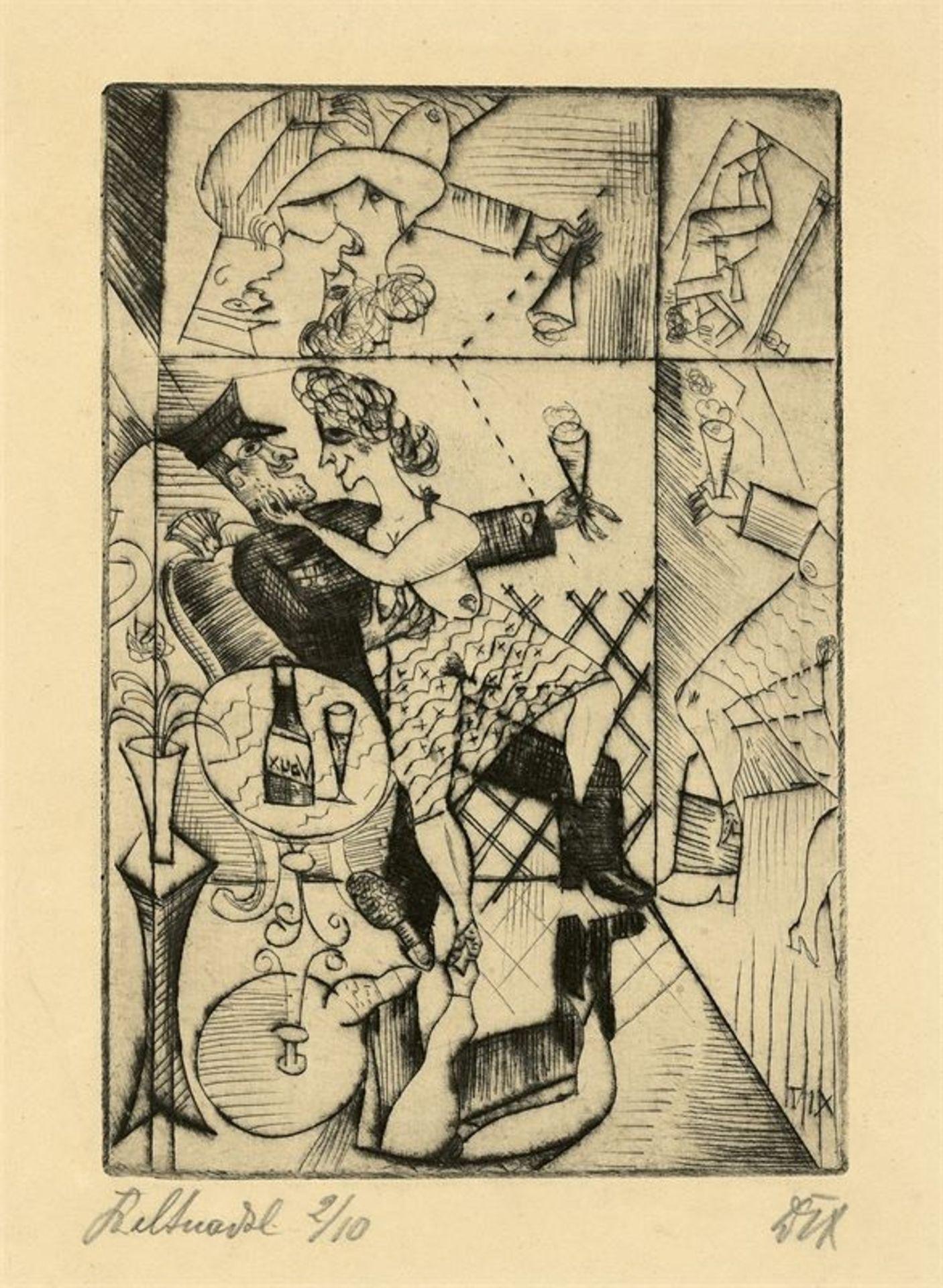 Los 178 - Otto Dix (Gera-Untermhaus 1891 – 1969 Singen)