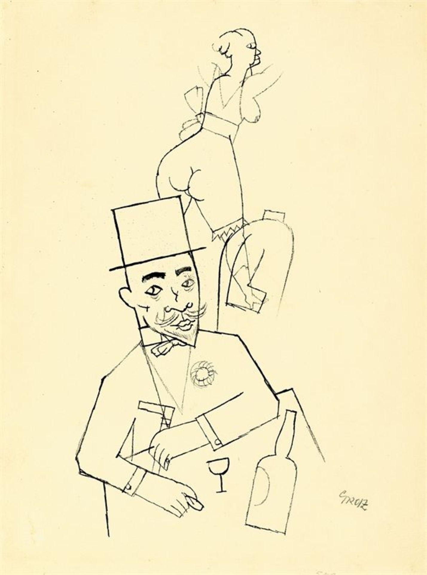 Los 180 - George Grosz (1893 – Berlin – 1959)