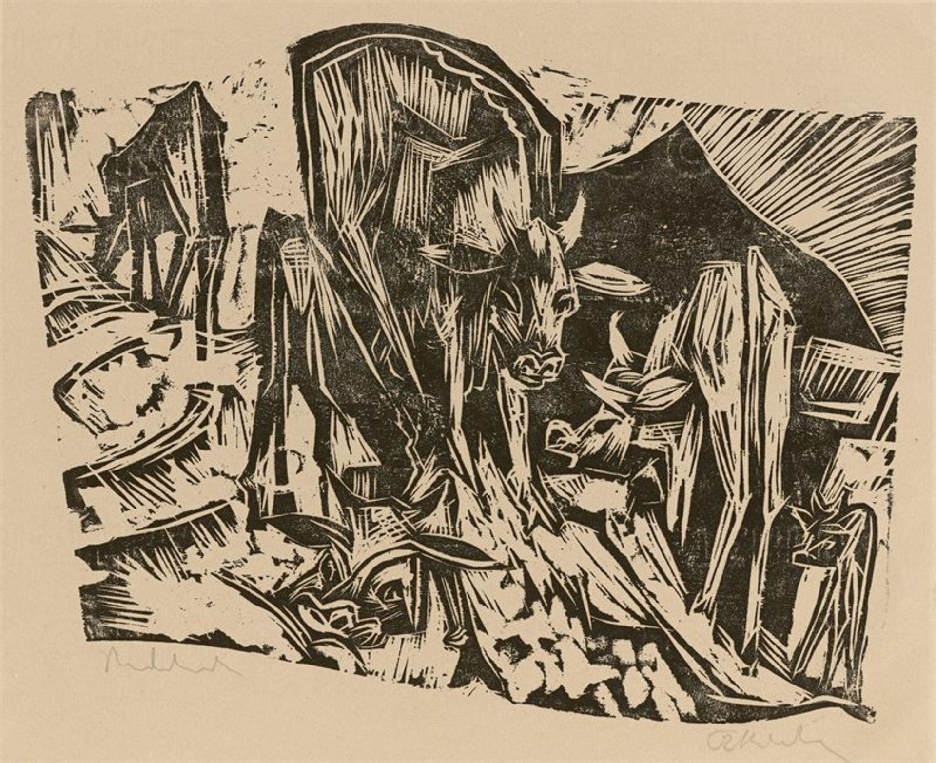 Los 145 - Ernst Ludwig Kirchner (Aschaffenburg 1880 – 1938 Davos)