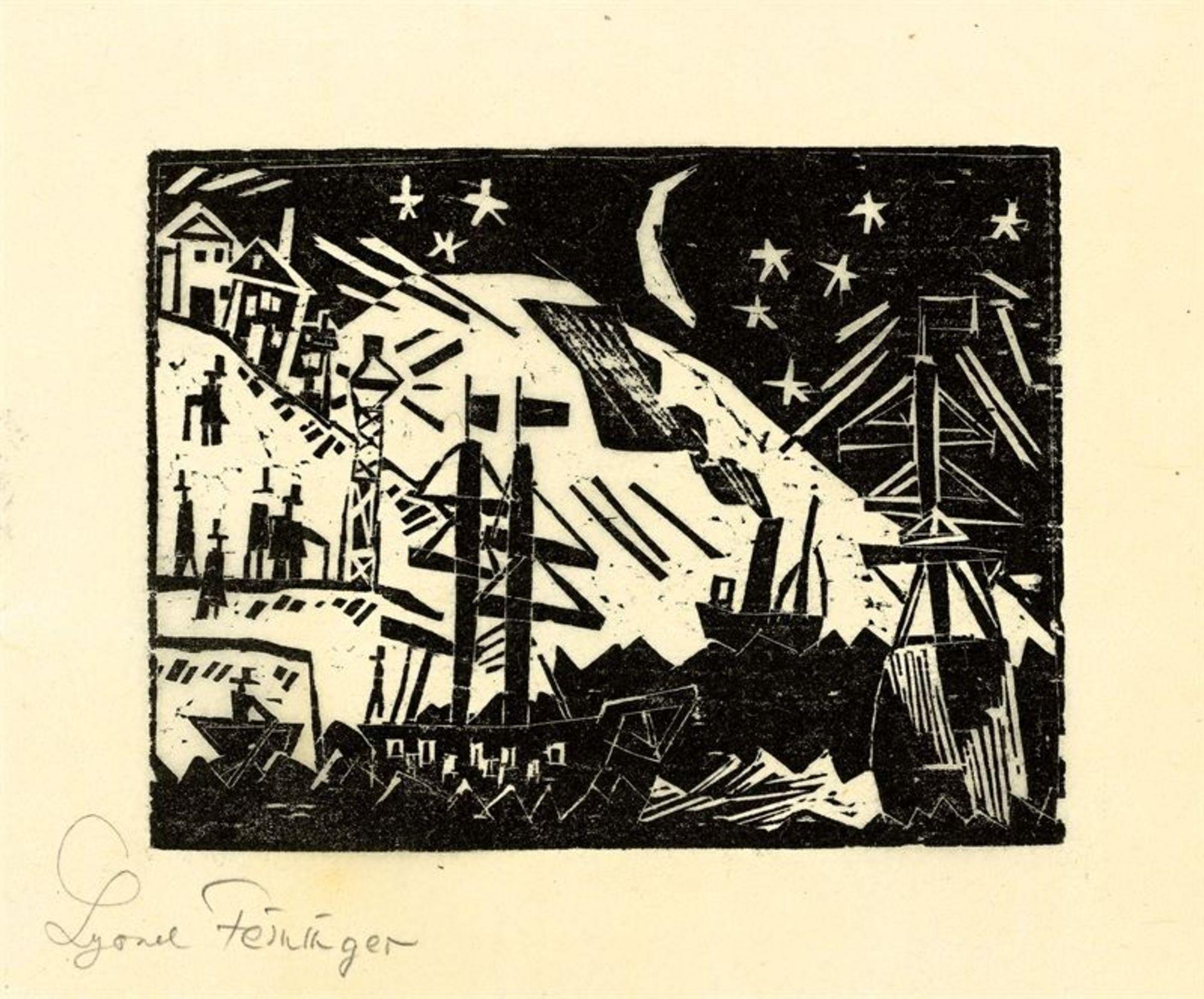 Los 191 - Lyonel Feininger (1871 – New York – 1956)