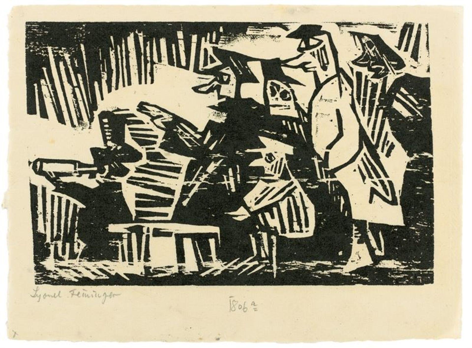 Los 194 - Lyonel Feininger (1871 – New York – 1956)