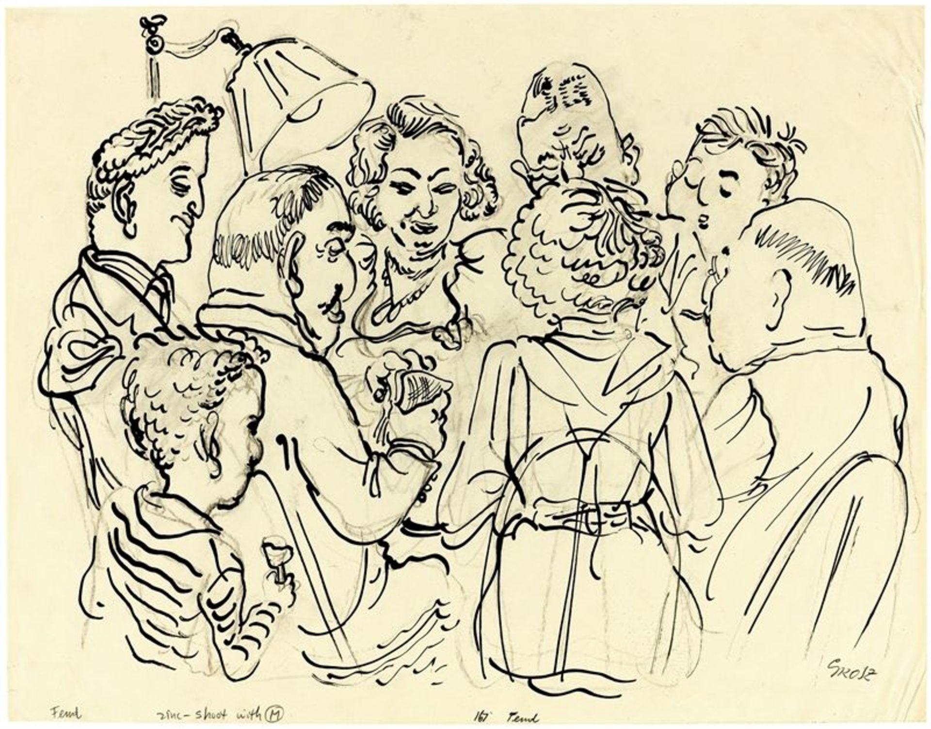 Los 216 - George Grosz (1893 – Berlin – 1959)