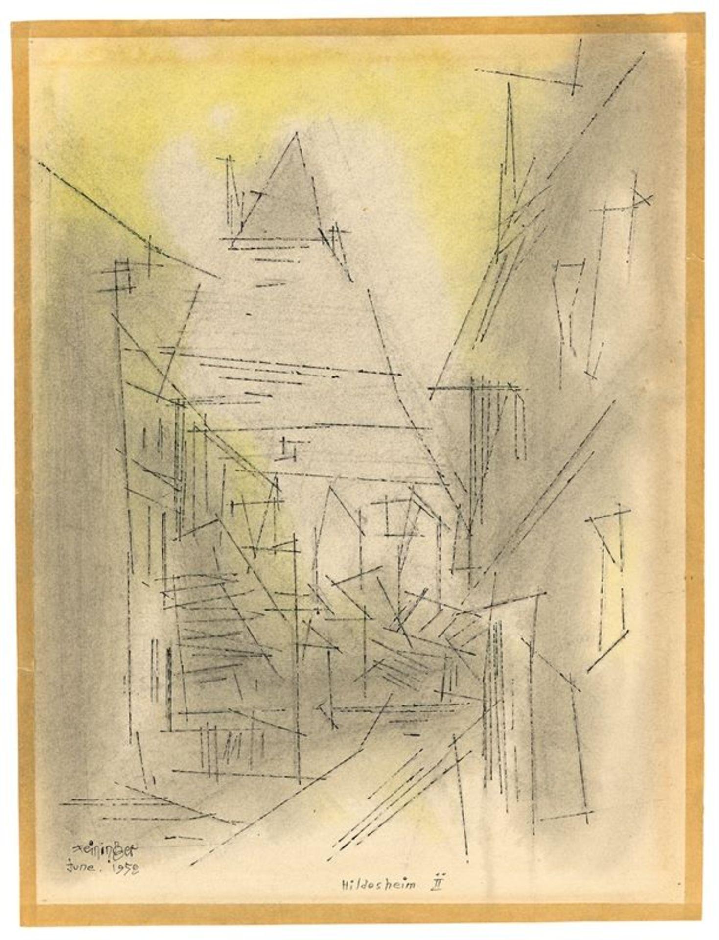 Los 187 - Lyonel Feininger (1871 – New York – 1956)