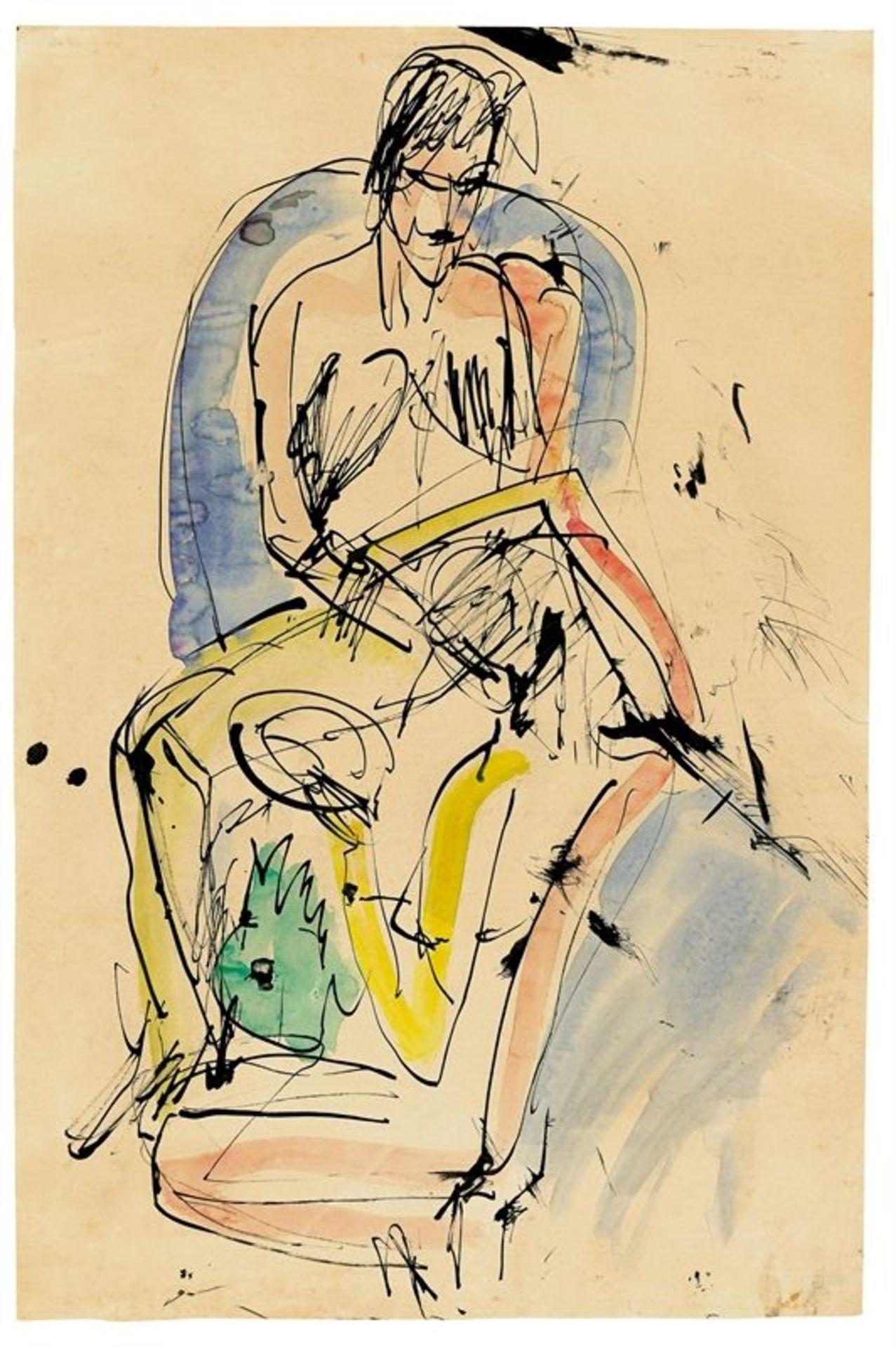 Los 136 - Ernst Ludwig Kirchner (Aschaffenburg 1880 – 1938 Davos)