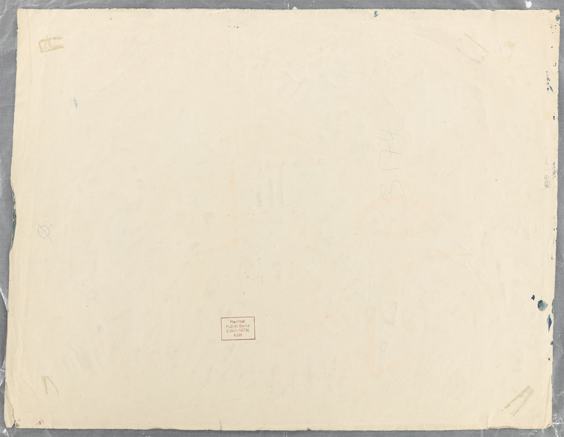 Los 1126 - Hubert Berke (Buer/Westfalen 1908 – 1979 Rodenkirchen b. Köln)