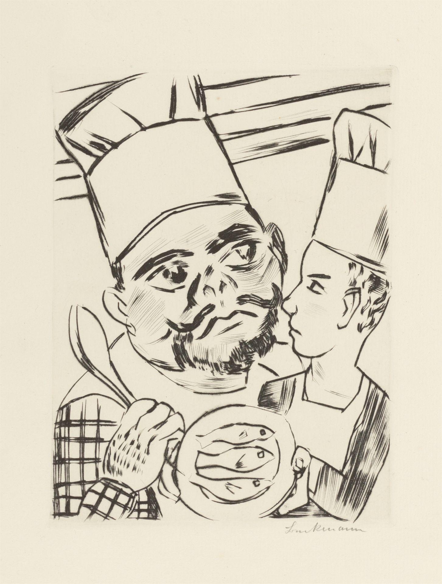 Los 1124 - Max Beckmann (Leipzig 1884 – 1950 New York)