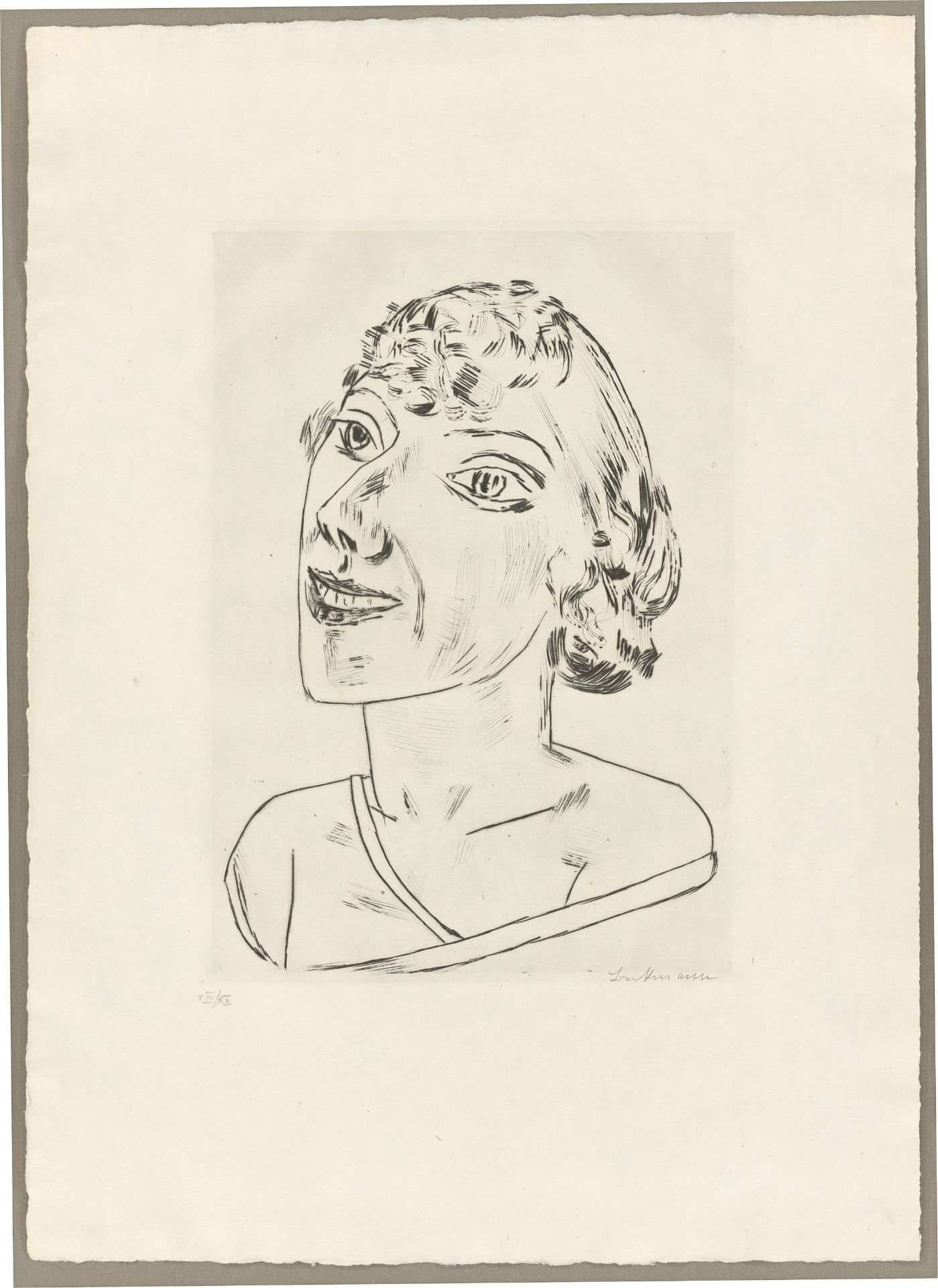 Los 1123 - Max Beckmann (Leipzig 1884 – 1950 New York)