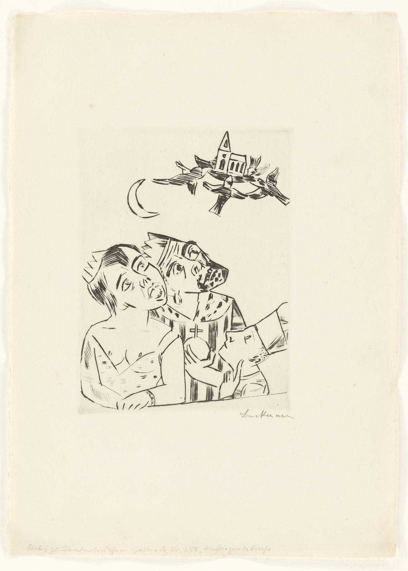 Los 1125 - Max Beckmann (Leipzig 1884 – 1950 New York)