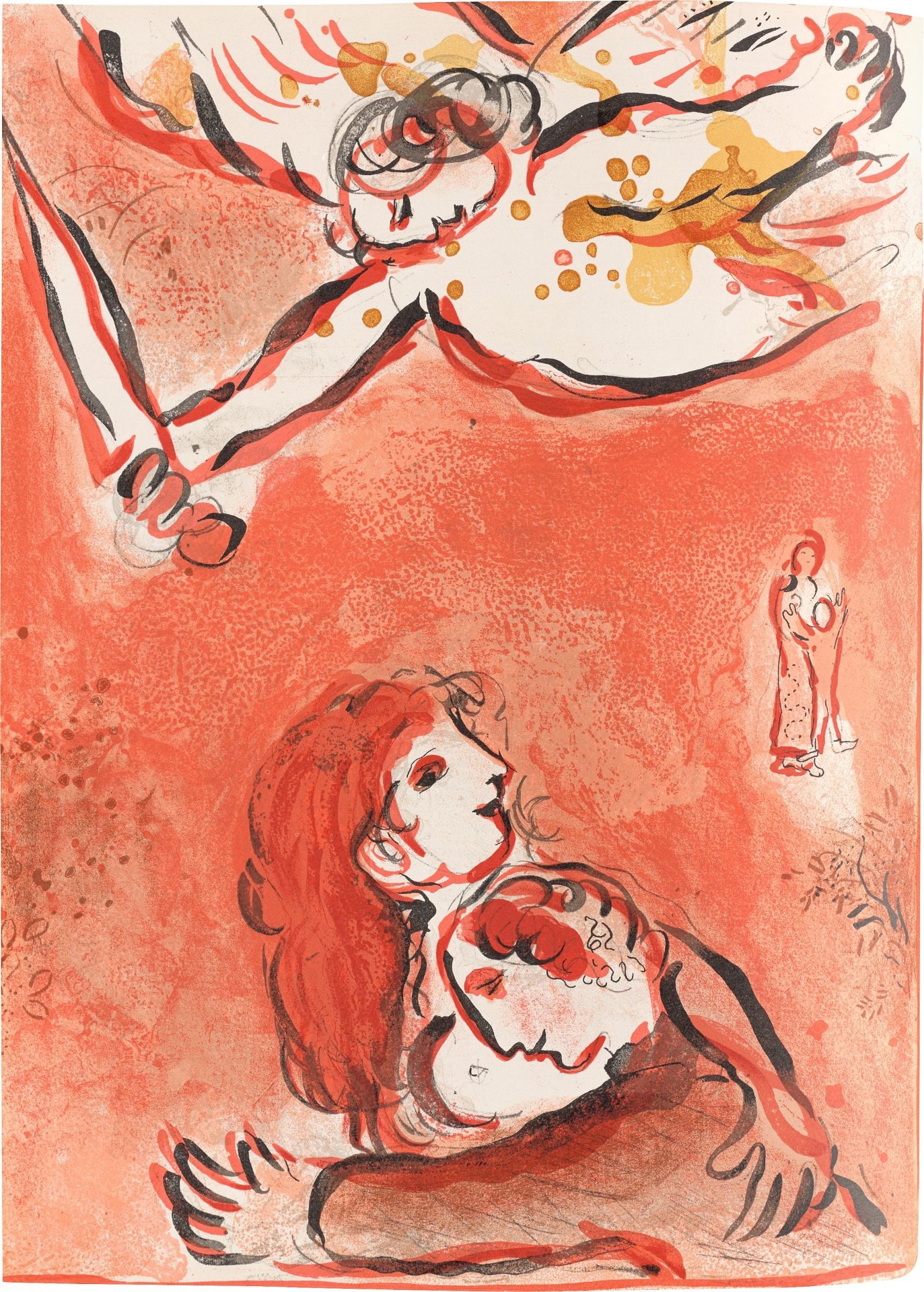 Los 1132 - Marc Chagall (Witebsk 1887 – 1985 Saint-Paul-de-Vence)