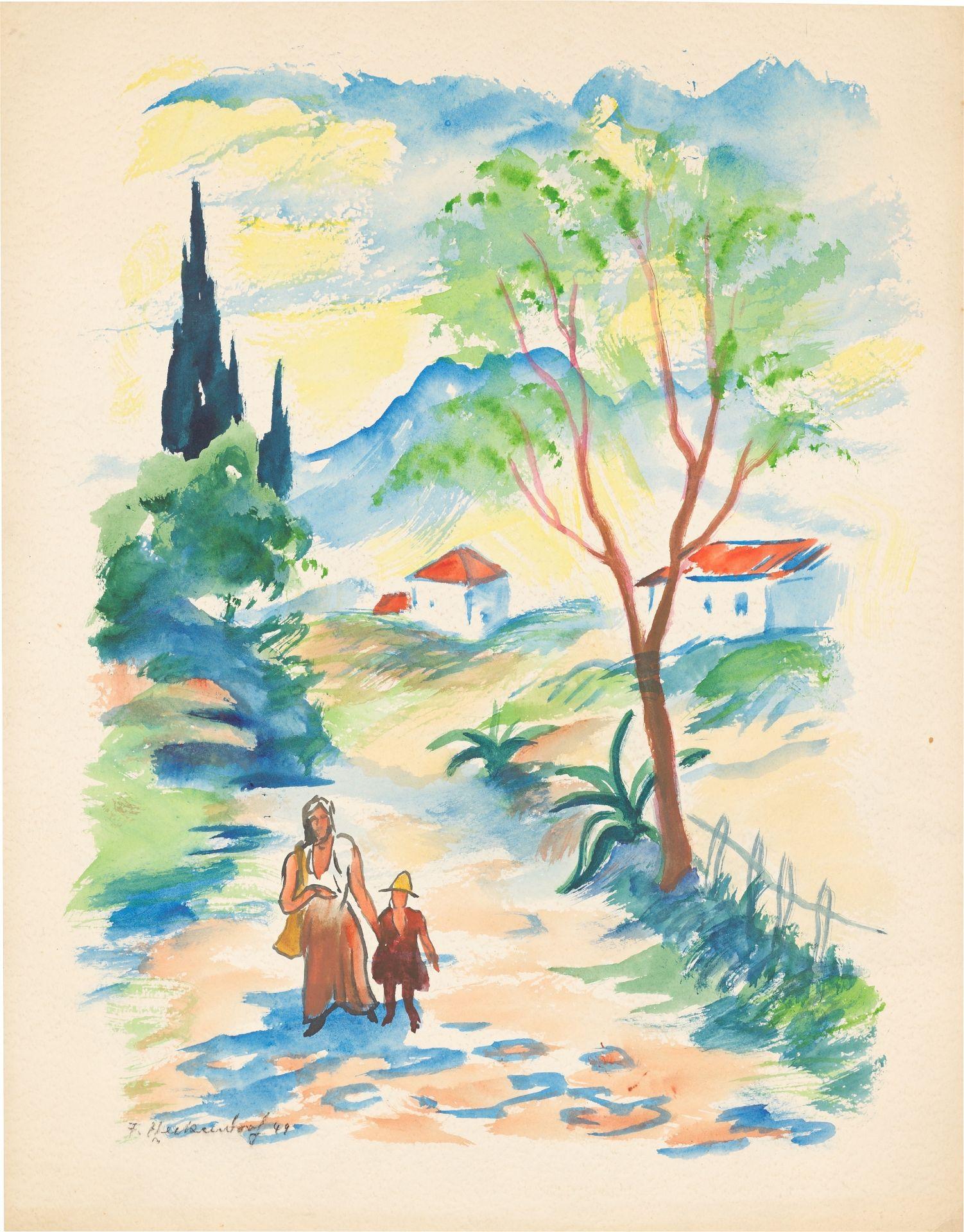 Los 1158 - Franz Heckendorf (Berlin 1888 – 1962 München)
