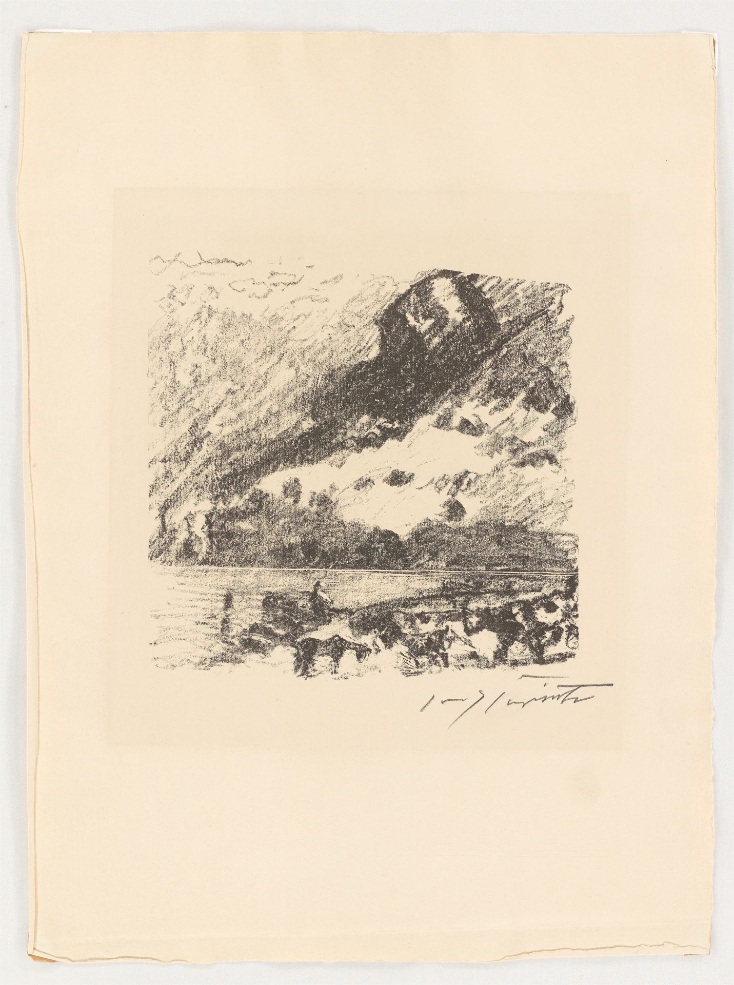 Los 1134 - Lovis Corinth (Tapiau/Ostpreußen 1858 – 1925 Zandvoort)