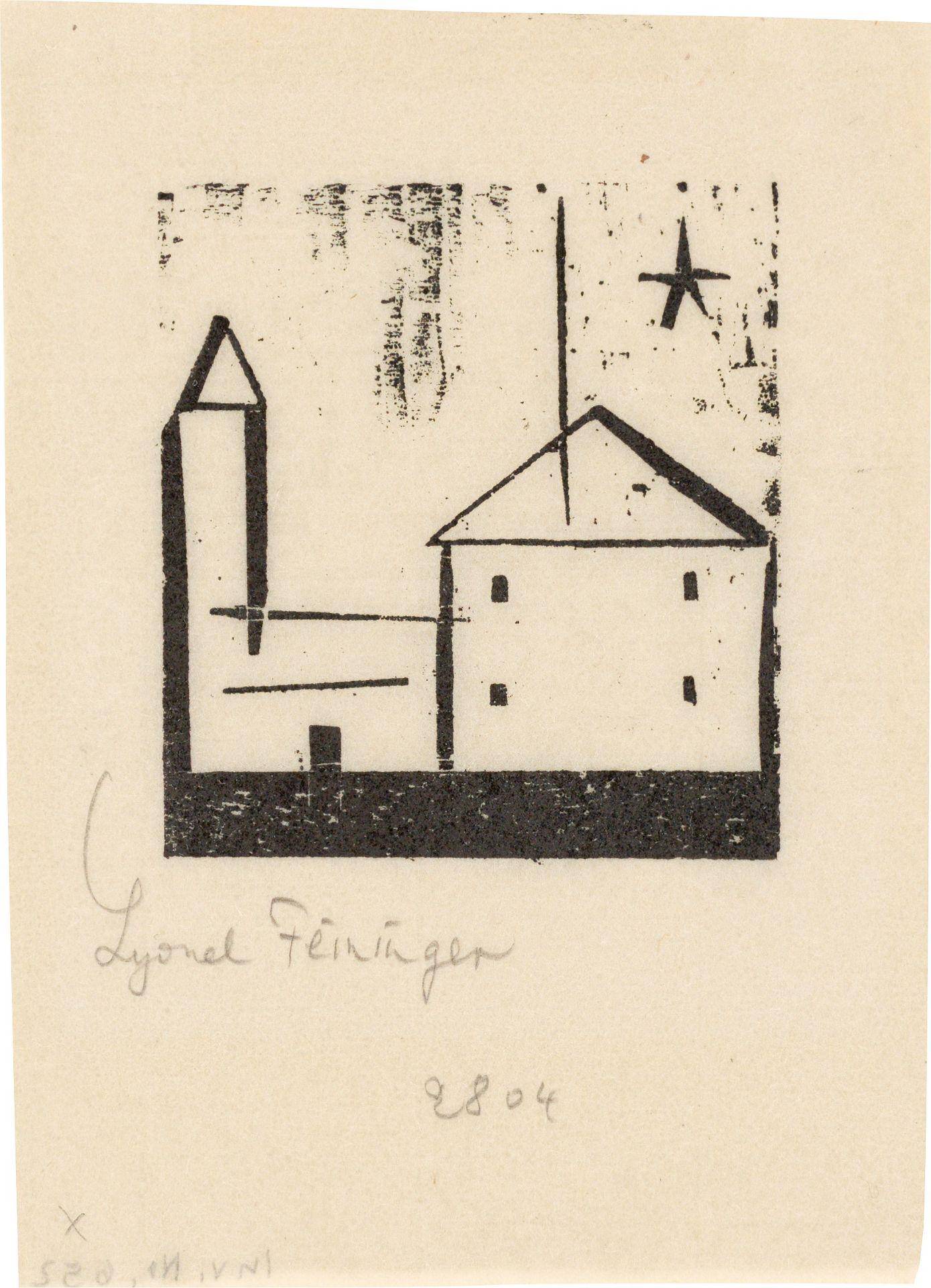 Los 1146 - Lyonel Feininger (1871 – New York – 1956)