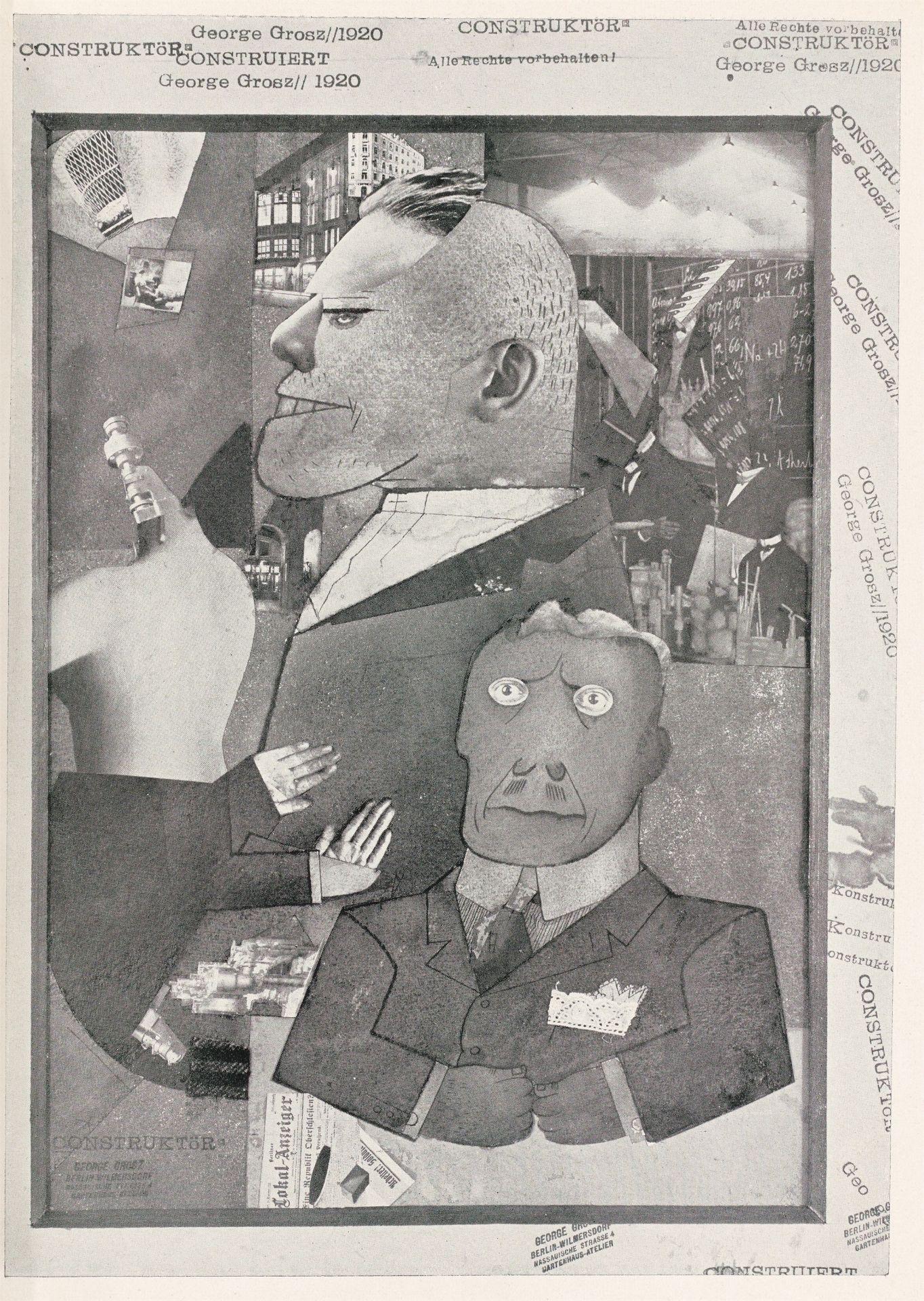 Los 1153 - George Grosz (1893 – Berlin – 1959)
