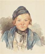 August Richter. Bildnis eines Jungen.