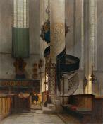 Carl Graeb. Die Kanzel von St. Georg zu Nördlingen. 1872