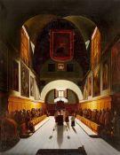Francois Marius Granet. Der Chor der Kapuziner in der Kirche Santa Maria dell`Immacolata…. Nach 1814