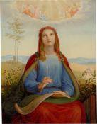 Johann Jakob Jung. Die Heilige Cäcilie. 1840