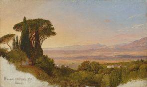 Louis Gurlitt. Albaner Berge. Um 1845