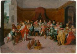 Frans II Francken (Werkstatt). Hochzeit zu Kanaan.