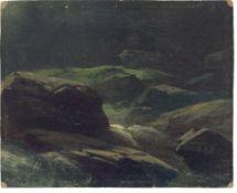"""Deutsch, um 1840/50. """"Im Plauenschen Grund bey Dresden"""". (Nach) 1847"""