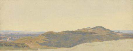 Deutsch, um 1830. Landschaftsstudie.