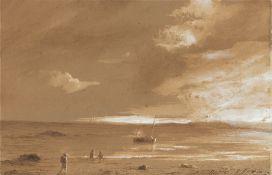 Théodore Gudin. An der Küste.