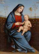 Adolf Senff. Maria mit dem Kinde (nach Francesco Francia). 1818