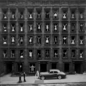 "Ormond Gigli. ""Girls in the Windows, New York City"". 1960"