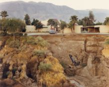 "Joel Sternfeld. ""After The Flash Flood, Rancho Mirage, California, July"". 1979"