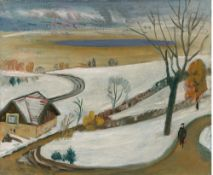 Gabriele Münter. Winterlandschaft. 1939