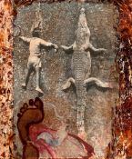 "Peter Beard. ""The Mingled Destinies of Crocodiles and Men"". 1966"