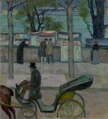 Emil Orlik. An der Seine, Paris. 1910