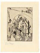 """Lyonel Feininger. """"Die grüne Brücke"""". 1910/11"""