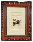 """Max Ernst. """"Kutsche"""". Um 1913"""