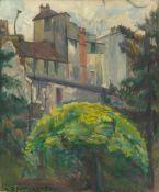 Lou Albert-Lasard. Hinterhof in Paris.
