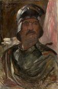 """Lovis Corinth. """"Selbstporträt im Harnisch"""". 1911"""