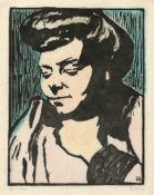 """Gabriele Münter. """"Mlle A. Robert"""". 1907"""