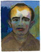"Emil Nolde. ""Porträt eines Mannes"". Um 1935/40"