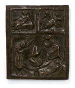 """Ernst Barlach. """"Tod und Leben"""". 1916/17"""