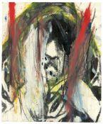 """Arnulf Rainer. Aus: """"Gesichter mit Goya"""". 1984"""