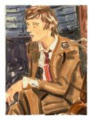 "Elizabeth Peyton. ""Pete on Newsnight (one)"". 2005"