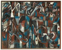 Markus Lüpertz. Kongo. 1981