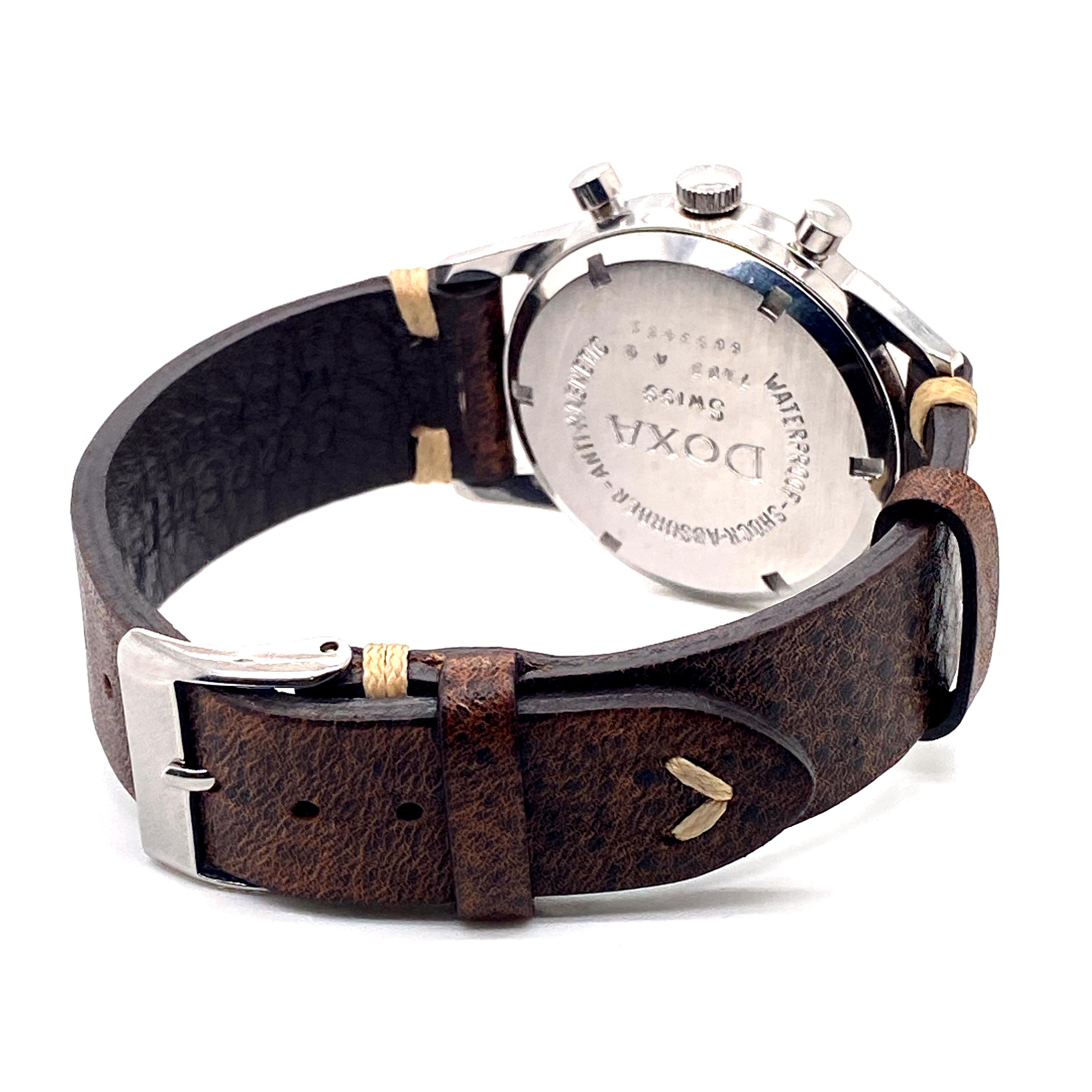 Lot 49 - Doxa Vintage Twin Chronograph ref 7105A