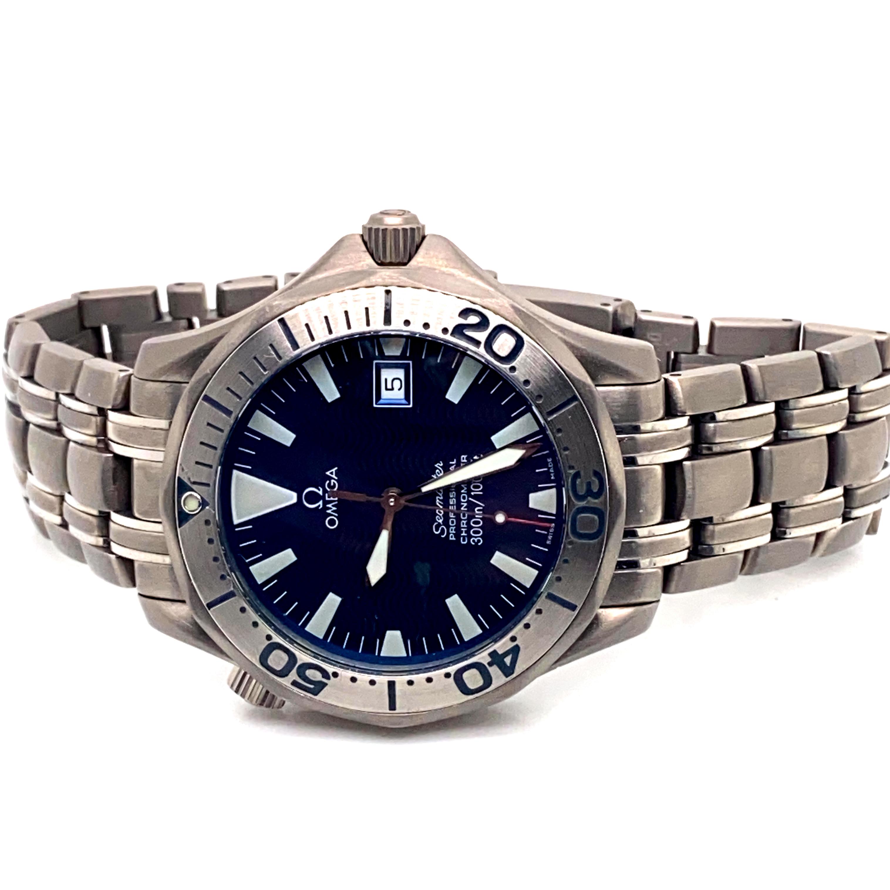 Lot 23 - Omega Seamaster 300m Titanium ref 2231800