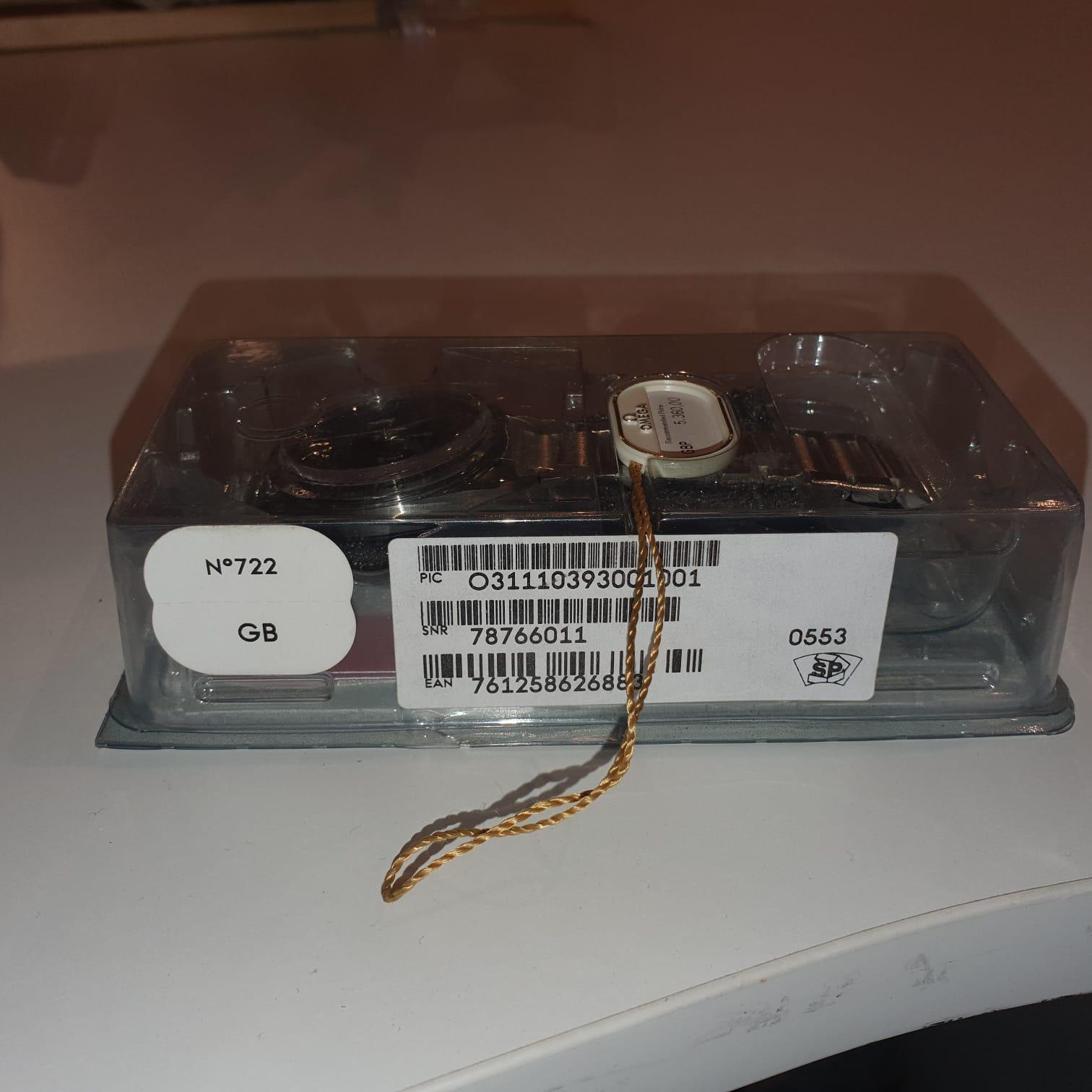 Lot 6 - Omega Speedmaster Ref 31110393001001 new old stock