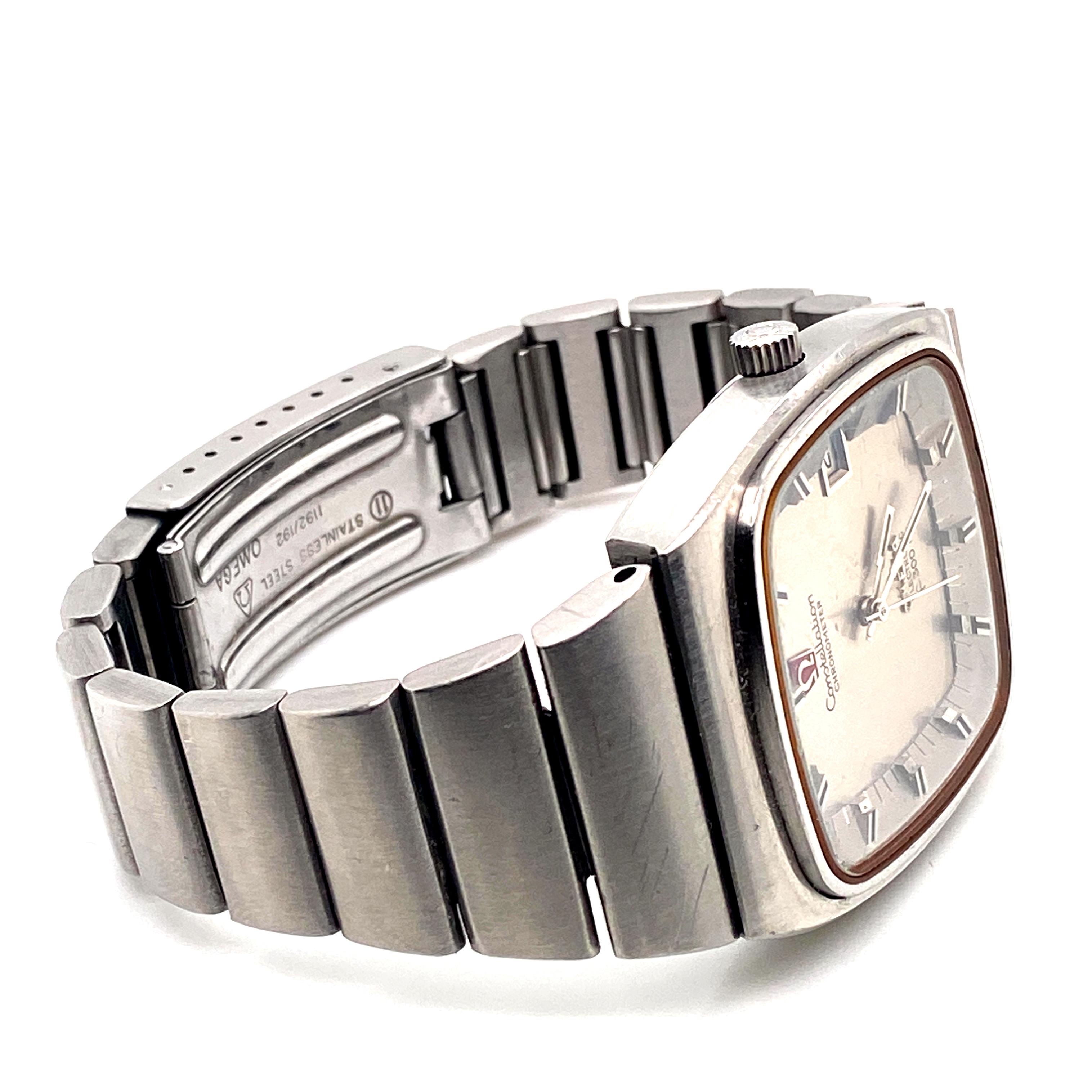 Lot 9 - Omega Constellation Chronometer f300hz ref 1980002