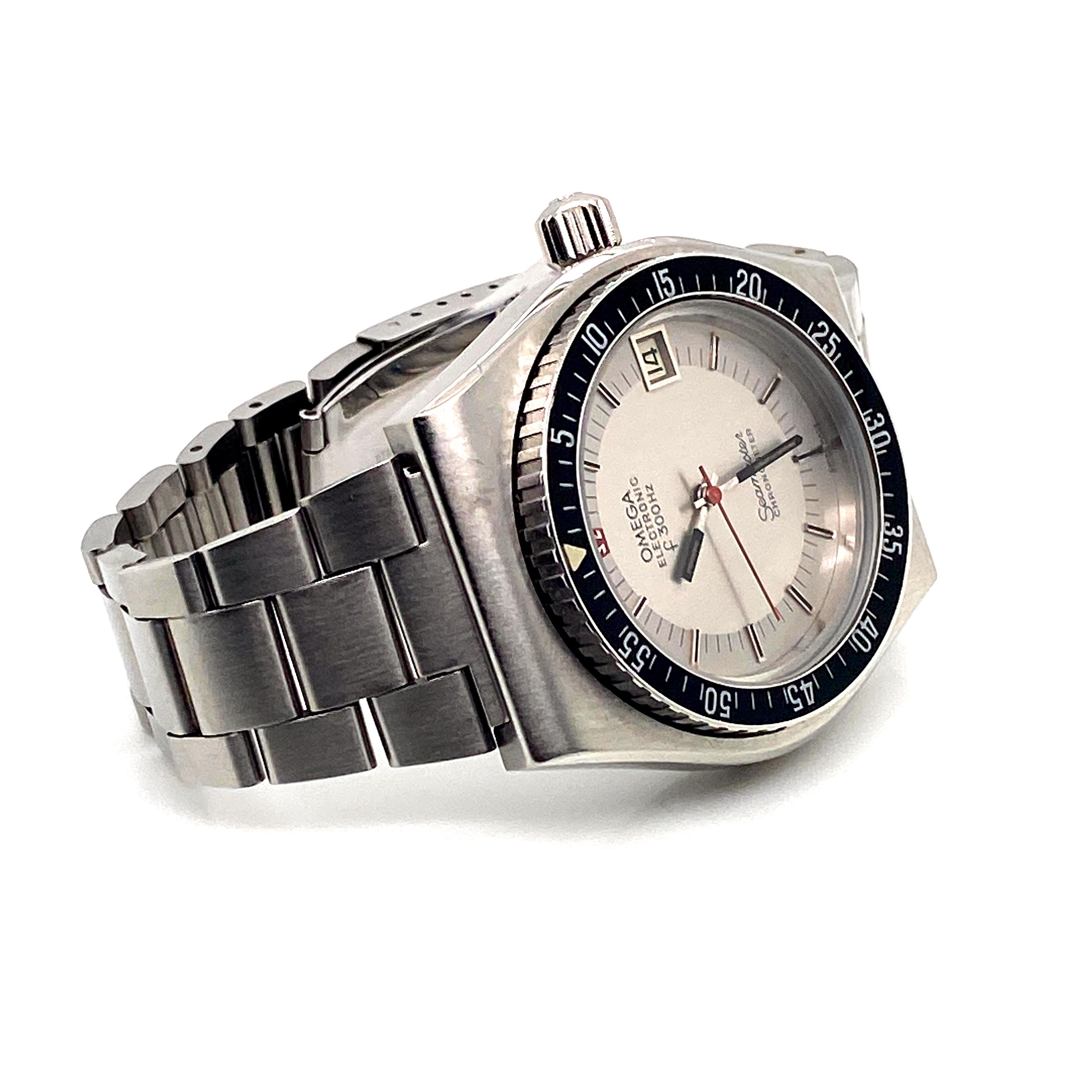 Lot 2 - Omega Seamaster Chronometer f300Hz Electronic
