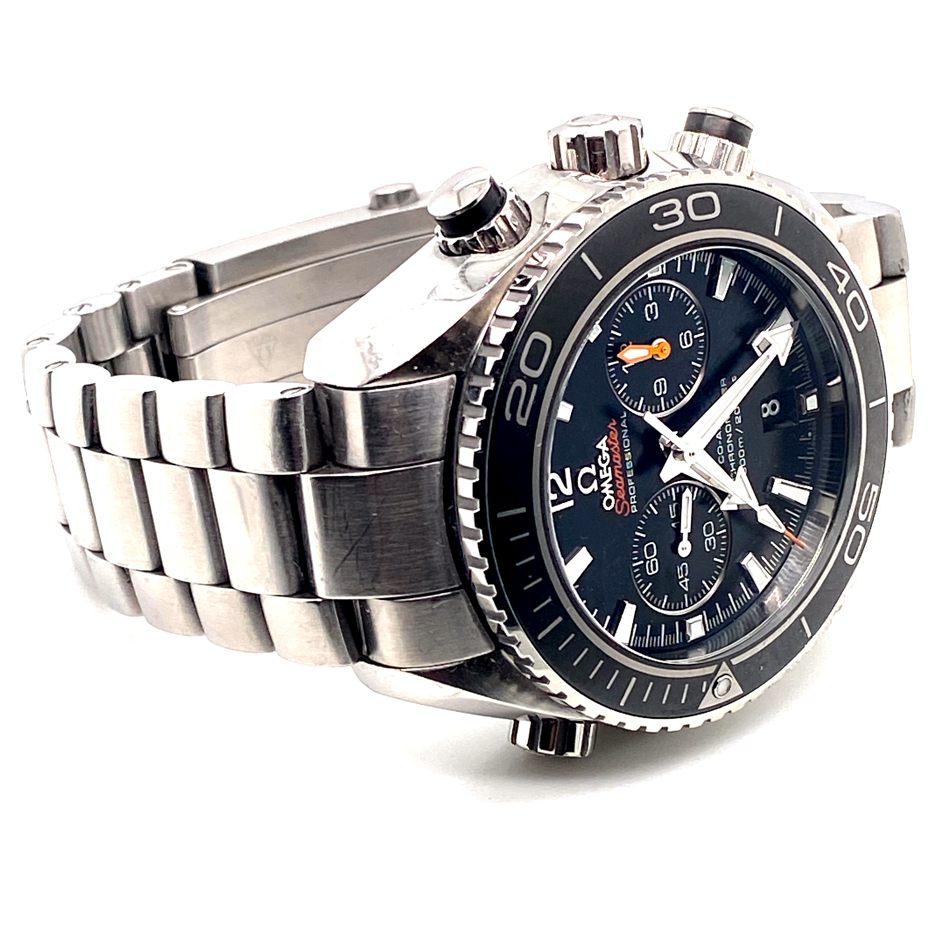 Lot 22 - Omega Seamaster Planet Ocean Chronograph Ref 23230455101001