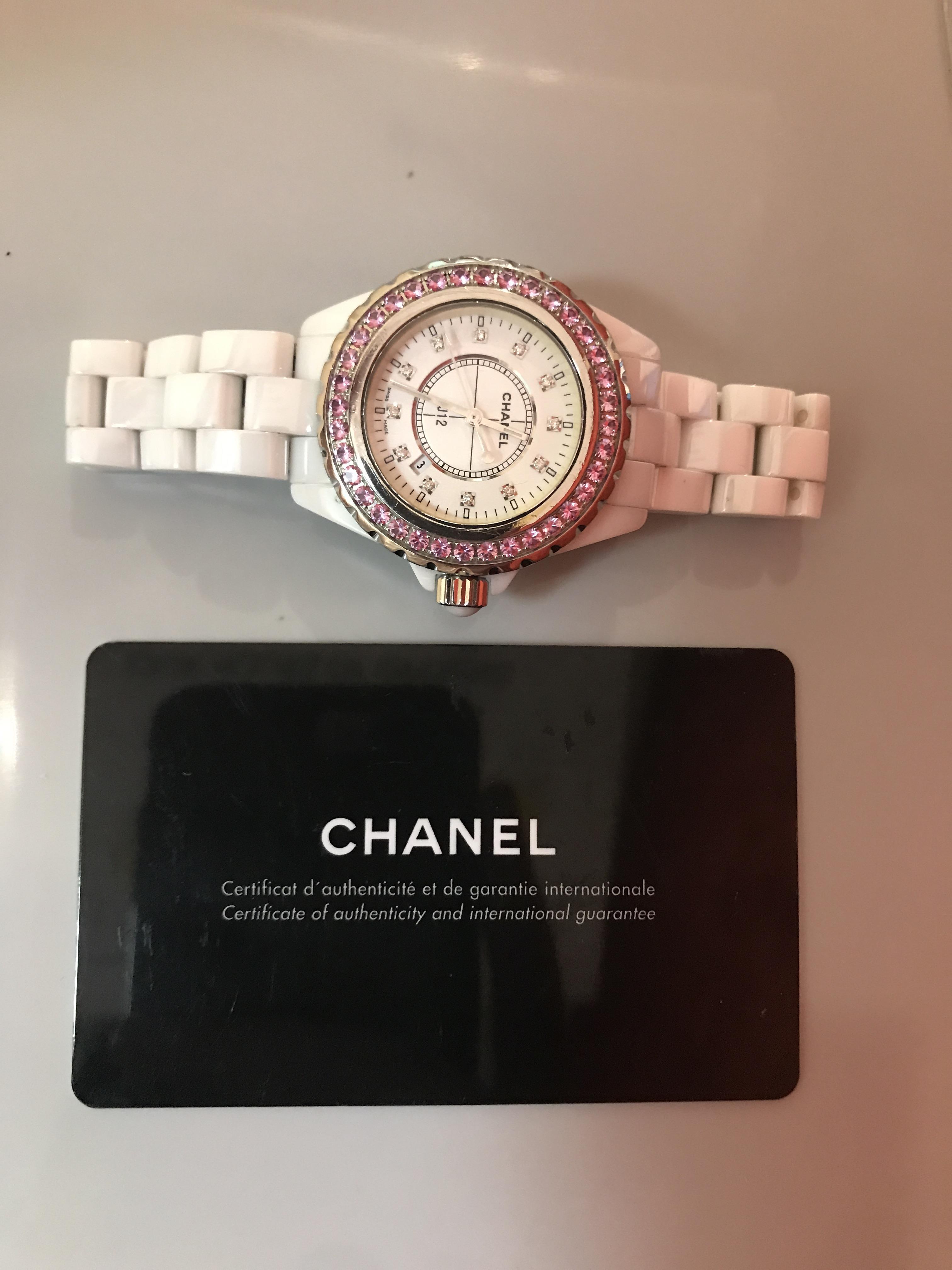 Lot 54 - Chanel J12 Ref H2010